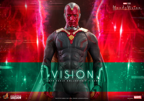 Vision Sixth Scale Figure by Hot Toys (Expected to Ship: Jul 2022 - Sep 2022) 907936
