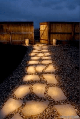 Aromaflage Lighted Path