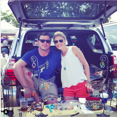 Bryan and Erin McDermott White at Charlottesville City Market