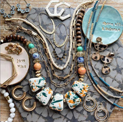 Erin McDermott Jewelry Flat Lay