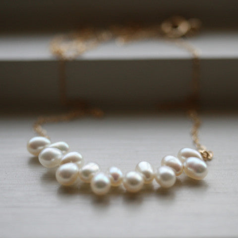 Vineyard Pearl Necklace
