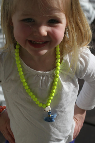 The Laffy Taffy Tassel Necklace