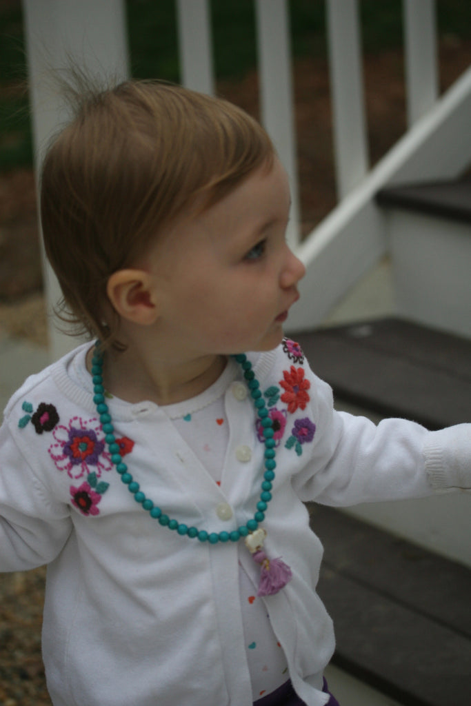 The Colored Sprinkles Tassel Necklace