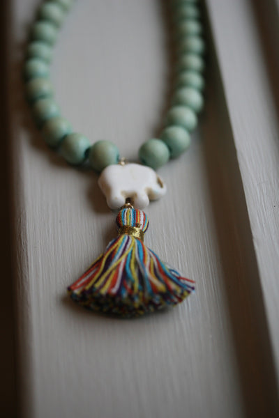 The Pop Rocks Tassel Necklace
