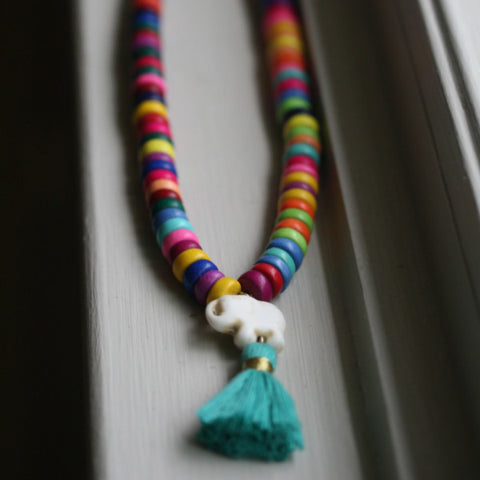 The Sour Jacks Tassel Necklace