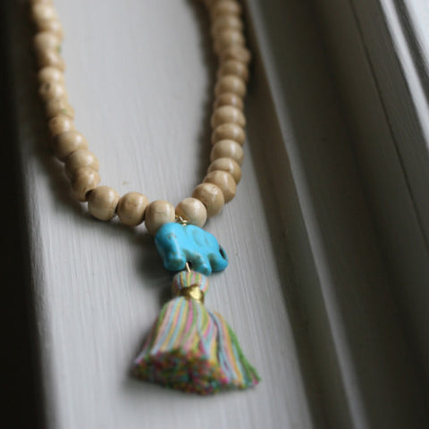 The Lollipop Tassel Necklace