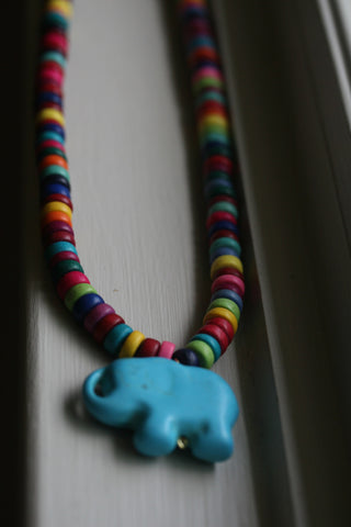 The Razzles Elephant Necklace