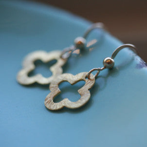 Mini Clover Earrings