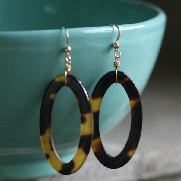 Tortoiseshell Earrings