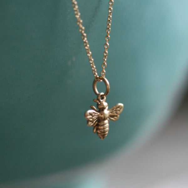 Little Honeybee Necklace