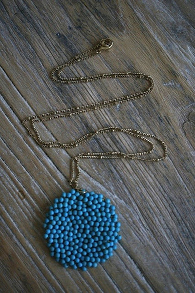 Art Gala Turquoise Necklace
