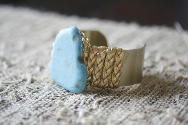 Canyon Treasures Turquoise Cuff Bracelet