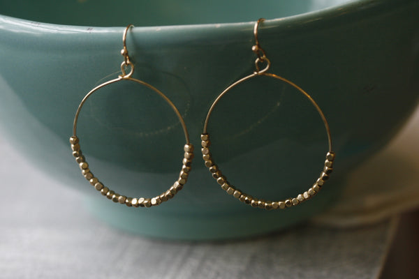Wear Anywhere Hoop Earrings
