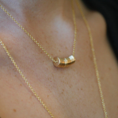 Lucky Thirteen Stack Necklace