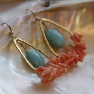 Sandy Toes Earrings