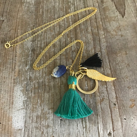 Santa Cruz Tassel Necklace