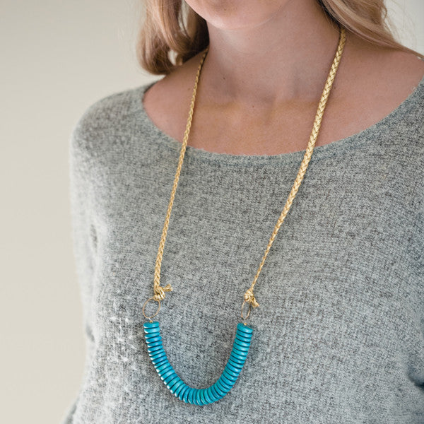 Coffee Run Necklace