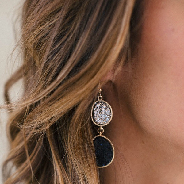 Night Embers Earrings