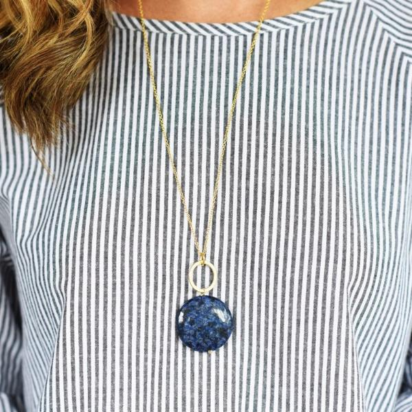 Wonders of the World Circle Necklace