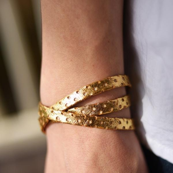 Gold Constellation Wrap Bracelet