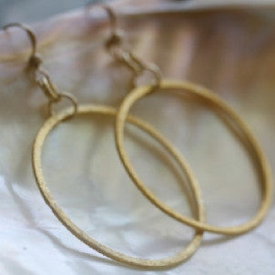 Everyday Large Circle Earrings