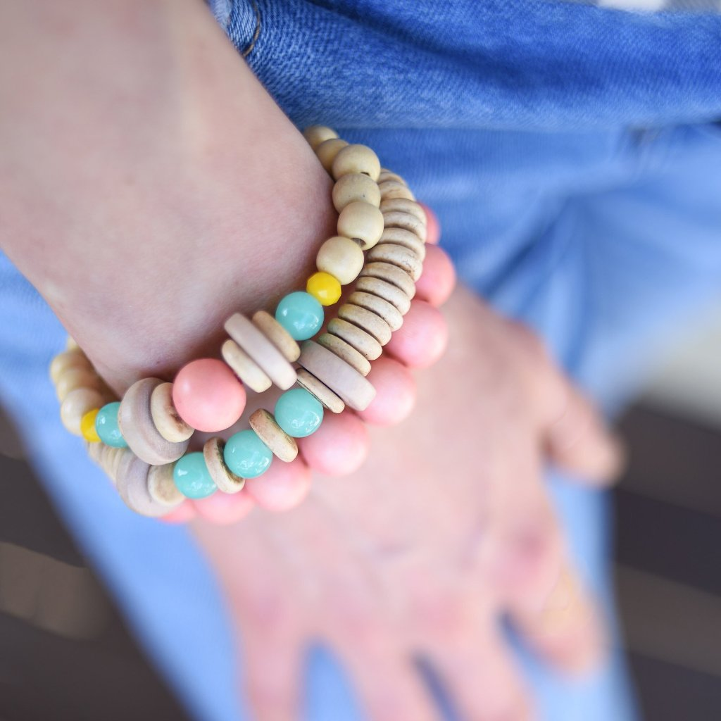 Sunset Cocktails Bracelet Stack