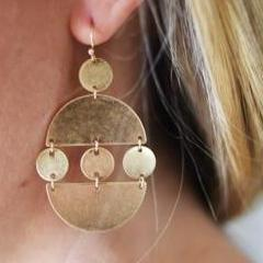 Brooklyn Cafe Earrings