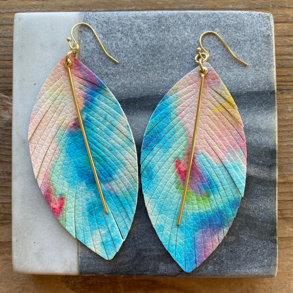 Tie-dye Earrings