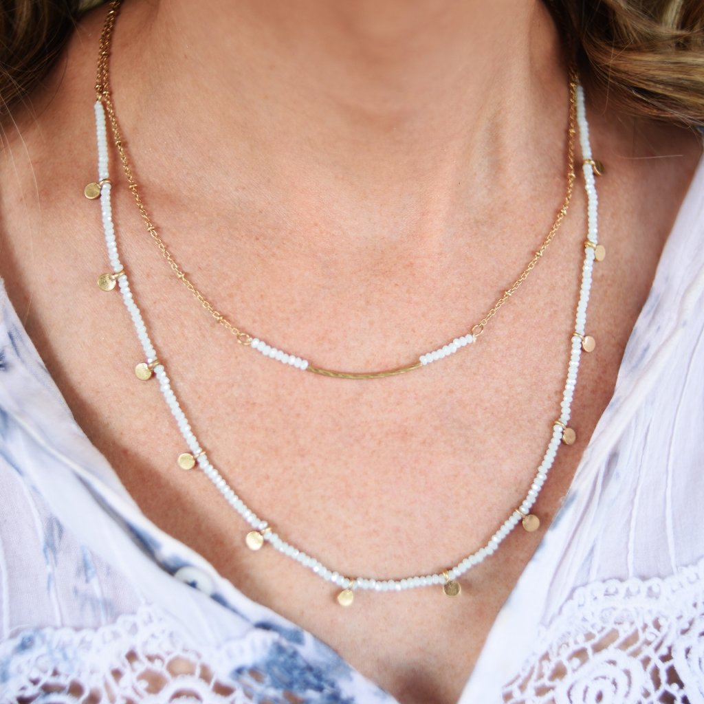 Double Layer Tradewinds Necklace