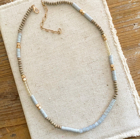 When Skies are Blue Necklace