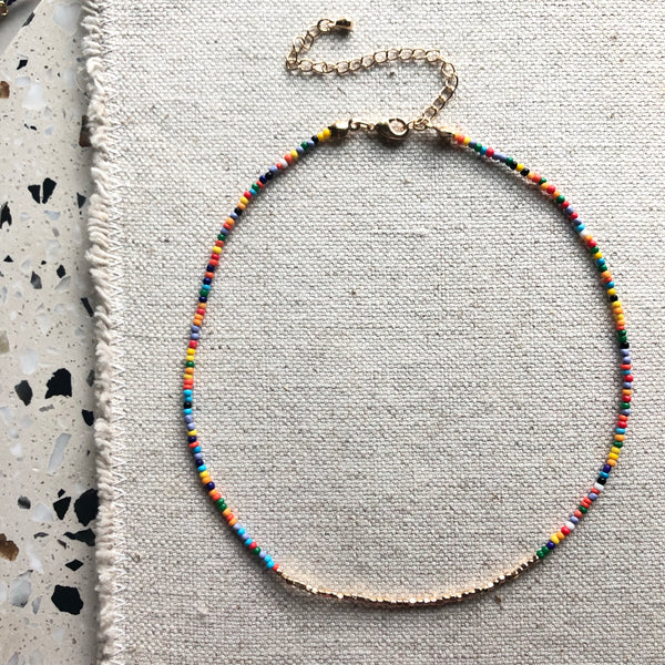 Tiny Beaded Necklaces