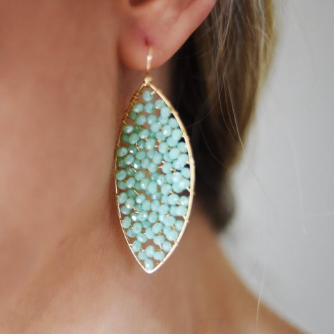 Mint Mojito Earrings