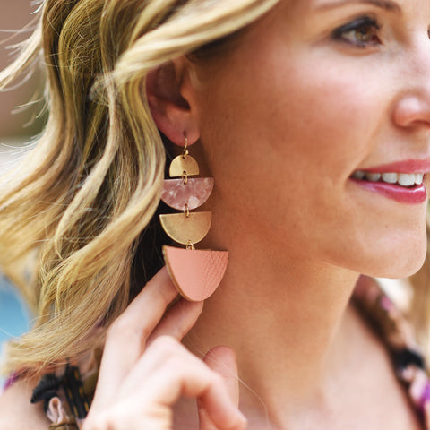 Blush Olivia Earrings