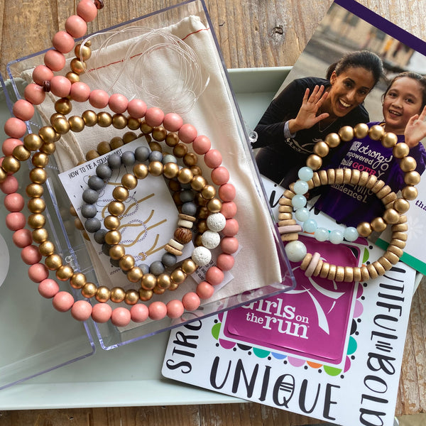 Adult Girls on the Run Jewelry Making Kit