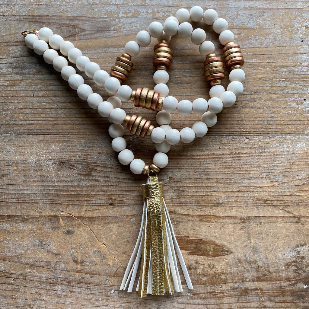 Autumn Tassel Necklace