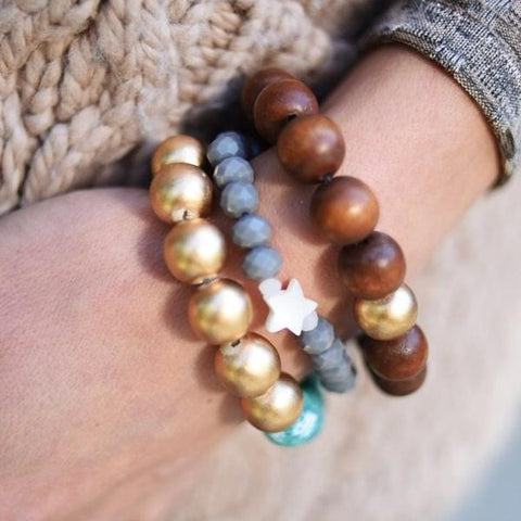 Star Dust Bracelet Stack