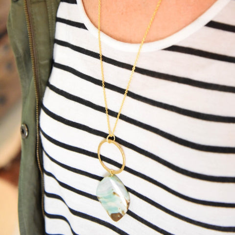 Sea Island Beach Necklace