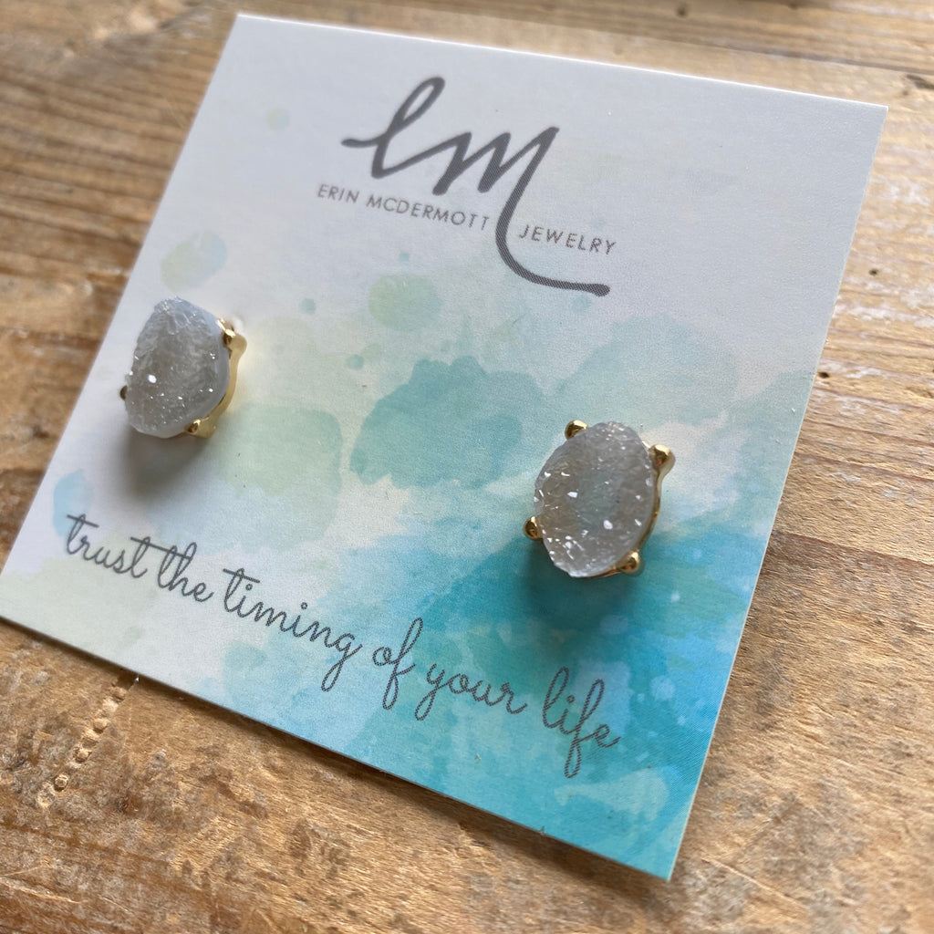 Ice Druzy Earrings