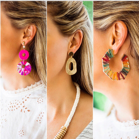 Three Statement Earrings you can't live without!