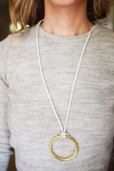 New Hope Circle Necklace