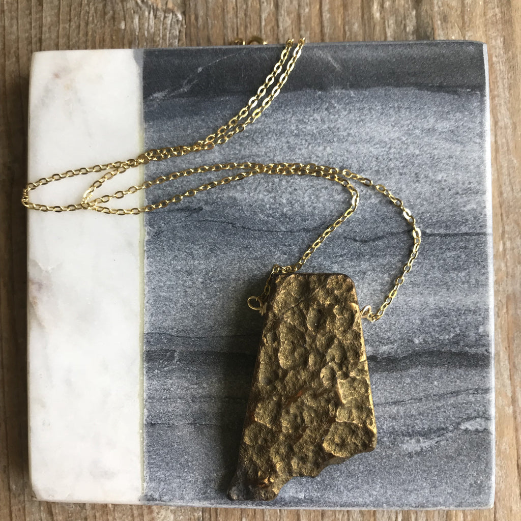Gold Sea Necklace