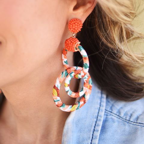 Havana Chic Earrings