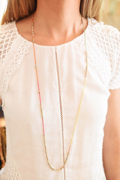 Ombre Morning Coffee Necklaces