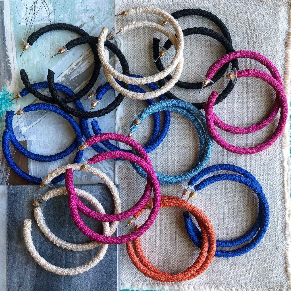 Fabric Hoop Collection