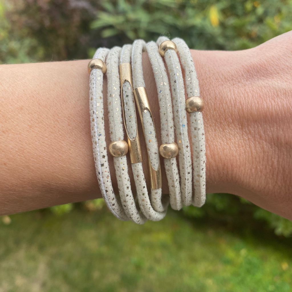 Snow-Capped Mountain Multi Stand Bracelet