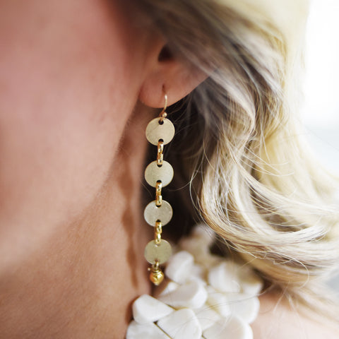 Dreamy Disc Earrings