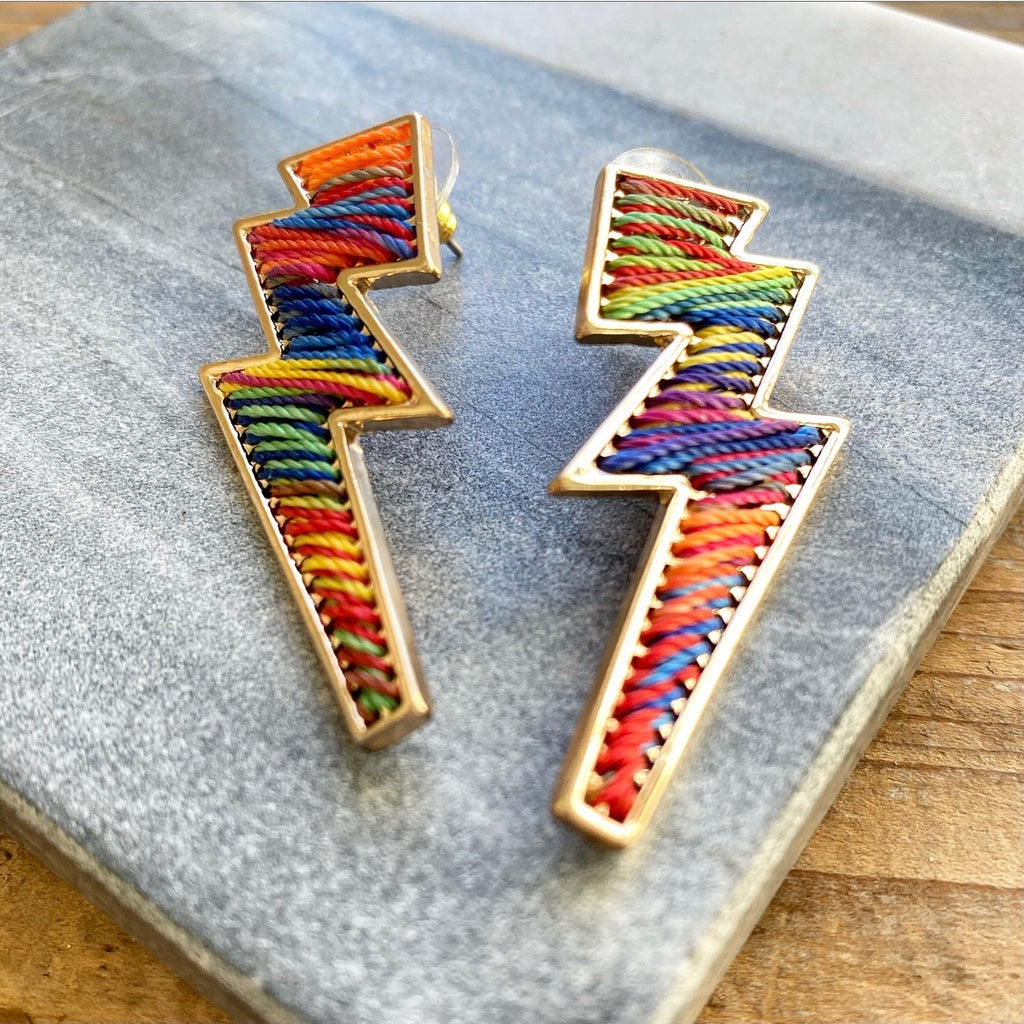 Lightening Earrings