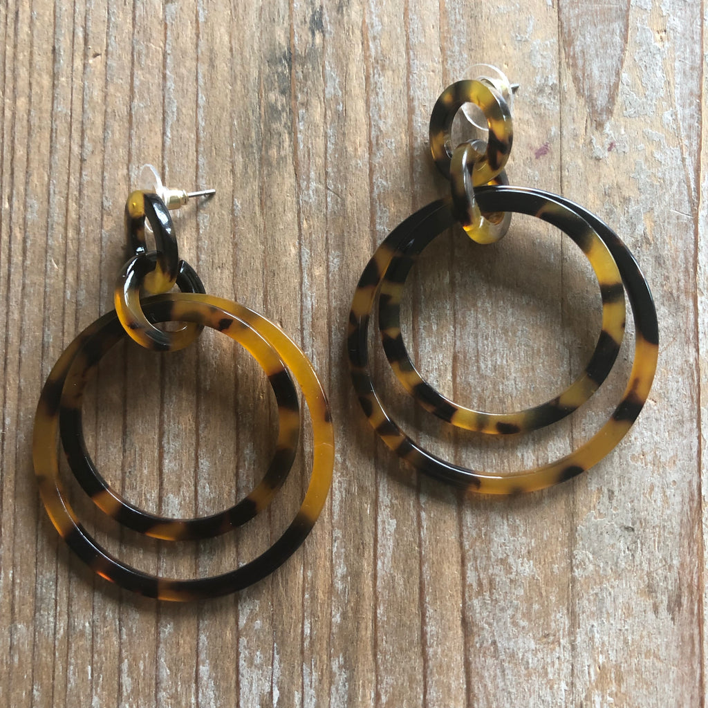 Kylie Resin Hoops