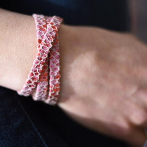 Strawberry Hills Wrap Bracelet