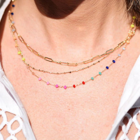 Triple Layer Day Off Necklace